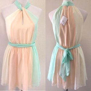 Victoria's Secret Small Dress Mini Pixie Sheer New